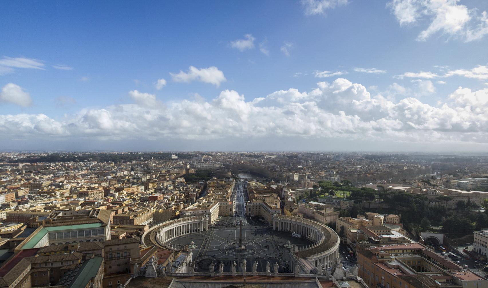 Panorama Vatikanstaten
